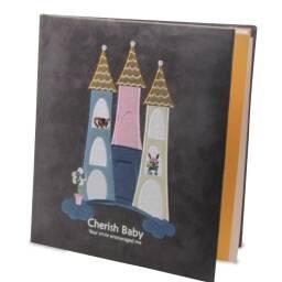 Album de fotos infantil Castillo - tamaño 13 x 18 Cumpleaños niños