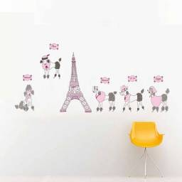 "Vinilo decorativo ""Torre Eiffel Paris"" - Papel tapiz adhesivo pared"