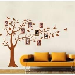 "Vinilo decorativo ""Arbol de fotos grande"" - Papel tapiz adhesivo pared"