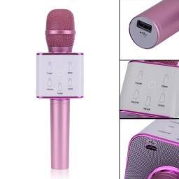 Microfono karaoke bluetooth con parlante de niña - ROSA