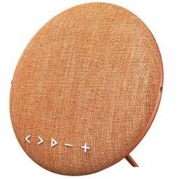 Parlante circular bluetooth Sardine naranja