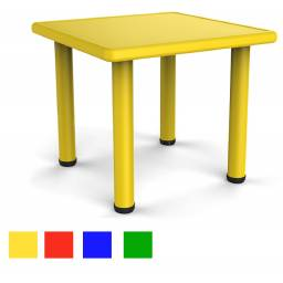 Mesa cuadrada plastica para niños infantil