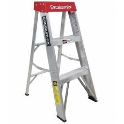 Escalera tijera de aluminio Escalumex 3 peldaños