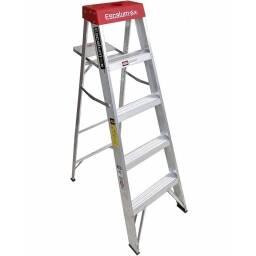 Escalera tijera de aluminio Escalumex 5 peldaños