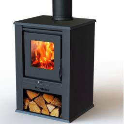 Estufa a leña calefactor 12 KW - Cubre hasta 124 m2