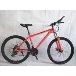 Bicicleta Montaña Crolan Roja