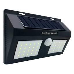 Lámpara solar de pared doble - Luz potente fija