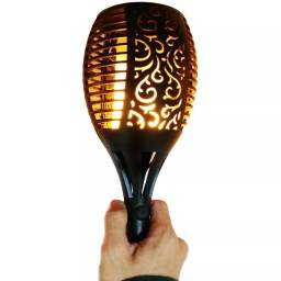 Antorcha solar LED 78 cm