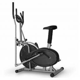 Bicicleta eliptica fija - Aparato de gimnasia 2 en 1