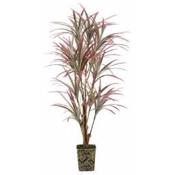 Cordyline - Planta artificial rojiza de 1,7m de alto