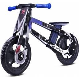 Bicicleta para niños en madera - diseño engranajes