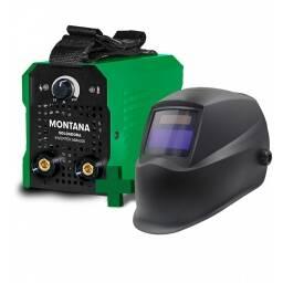 Soldadora Inverter Montana 200 Amp + Careta Fotosensible