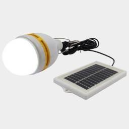 Lampara LED recargable con luz solar - 3m de cable