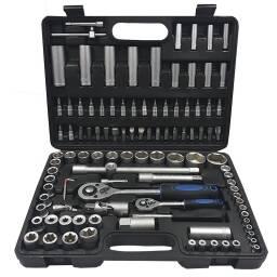 Juego de dados 108 piezas - kit de herramientas bocallaves