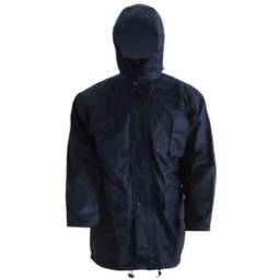 Parka impermeable talle L
