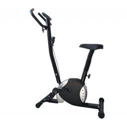 Bicicleta Fija Ergometrica Negra Alta