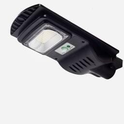 Lampara solar en brazo 30W con control remoto