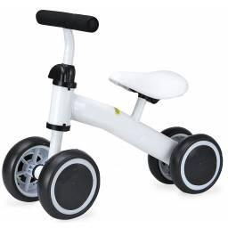 Buggy cuatriciclo en metal Blanco - triciclo niños