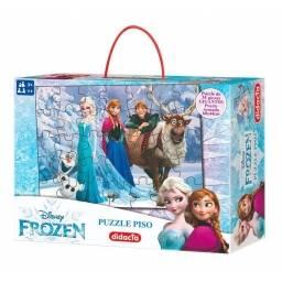 Puzzle de Piso Frozen 60x44  - Anna Elsa