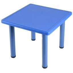 Mesa cuadrada para niños infantil Azul