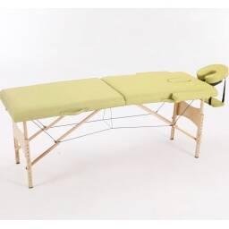 Camilla de masajes plegable Crema - profesional