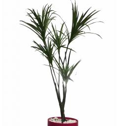 Triple Yucca - Planta artificial verde de 1,5m de alto