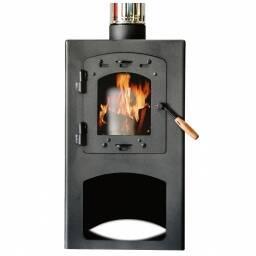 Calefactor a leña Qutral 6 KW - cubre hasta 60 m2