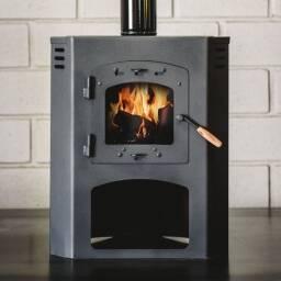 Calefactor a leña Rinconero 10 KW - estufa Qutral