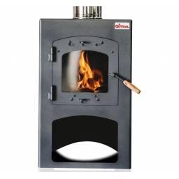 Calefactor a leña Qutral 9 KW - cubre hasta 80 m2