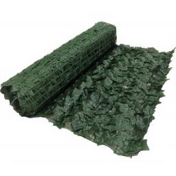Enredadera en rollo 3x1m OSCURA - jardin cercos planta artificial