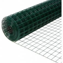 Malla electrosoldada con PVC verde ? cerco cerca 1,2m