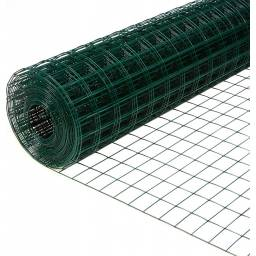 Malla electrosoldada con PVC verde ? cerco cerca 1,8m