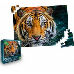 Puzzle rompecabezas Tigre - 1000 pzs (en Lata)