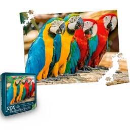 Puzzle rompecabezas loros papagayos - 1000 pzs (en Lata)