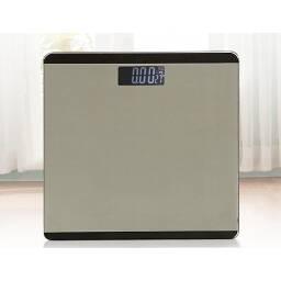 Balanza digital de baño gris plata - automatica