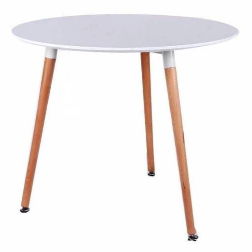 Mesa circular Eames 80 cm
