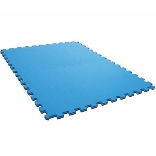 Piso Goma Eva Tatami Azul - 1 Cm De Espesor