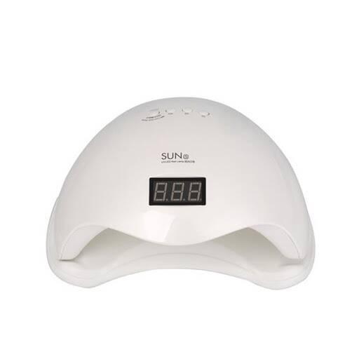 Lampara LED / UV para secado de uñas profesional 48w