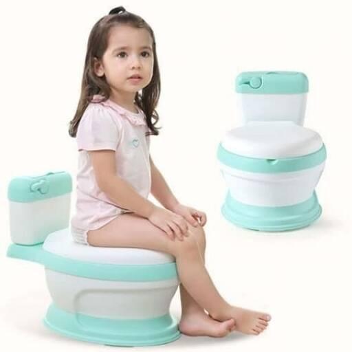 Pelela de Bebe Verde - inodoro Cisterna water wc Niños