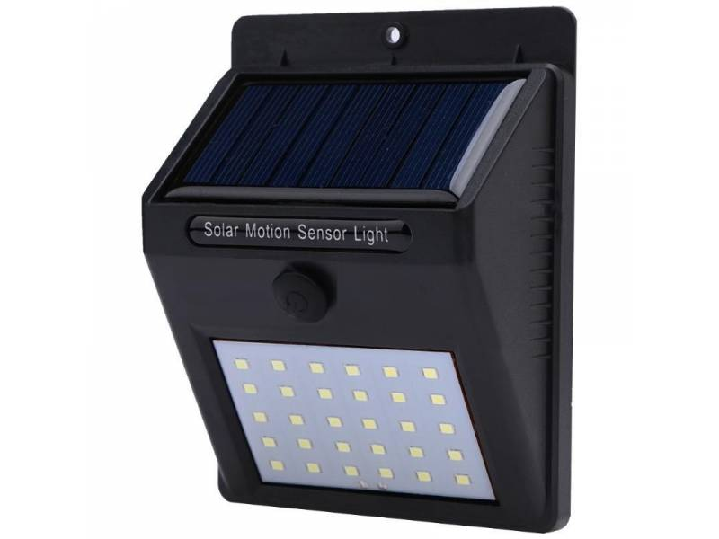 Lampara solar de pared - aplique Luz LED muy potente
